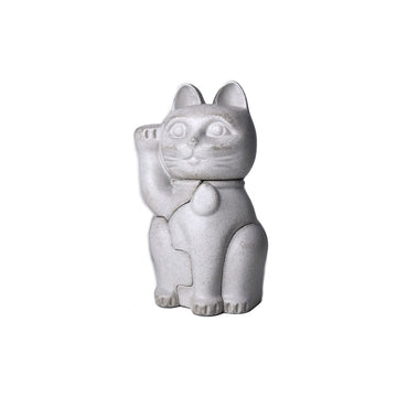 Small Maneki-Neko (White)