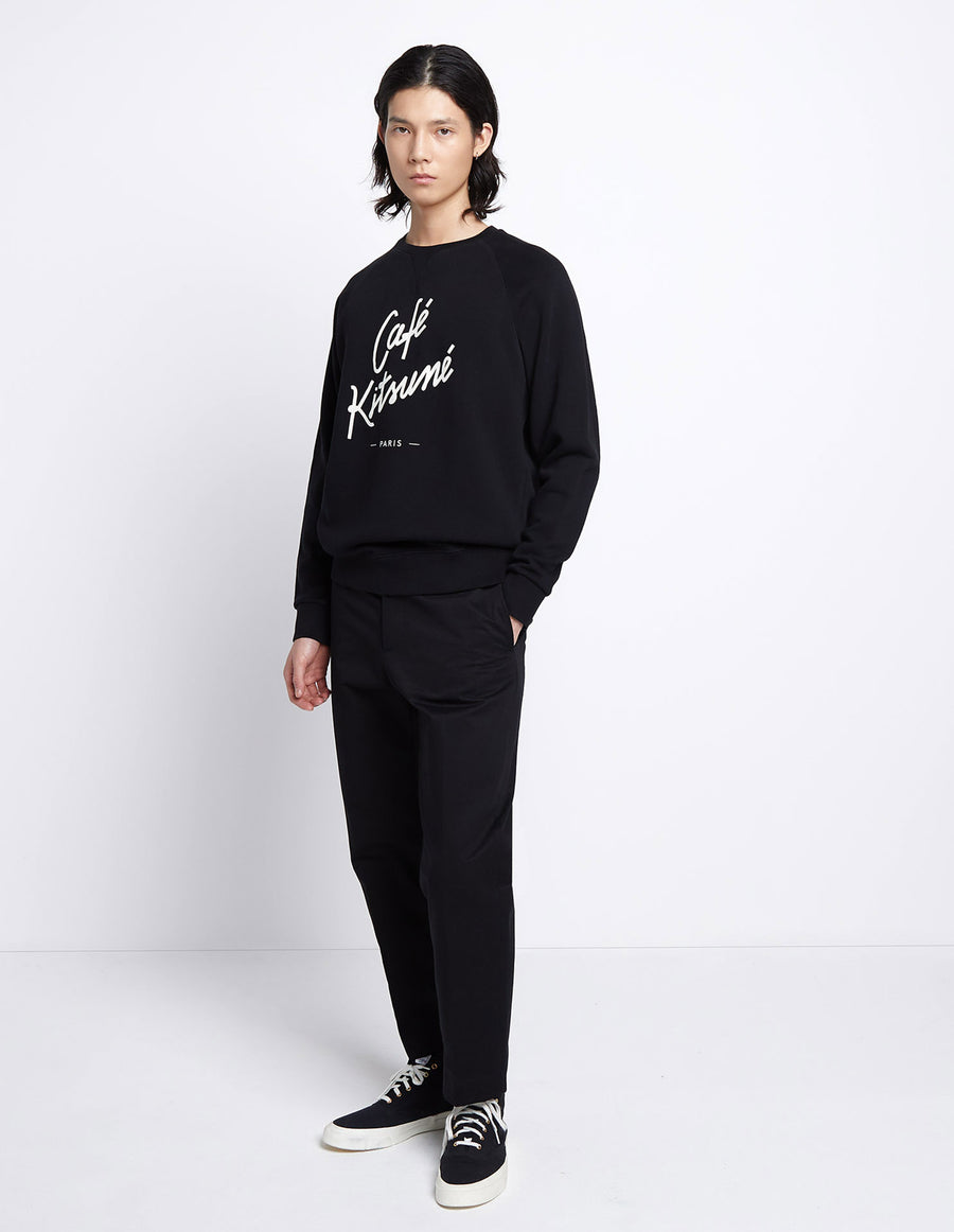 Sweatshirt Cafe Kitsune Black (unisex)