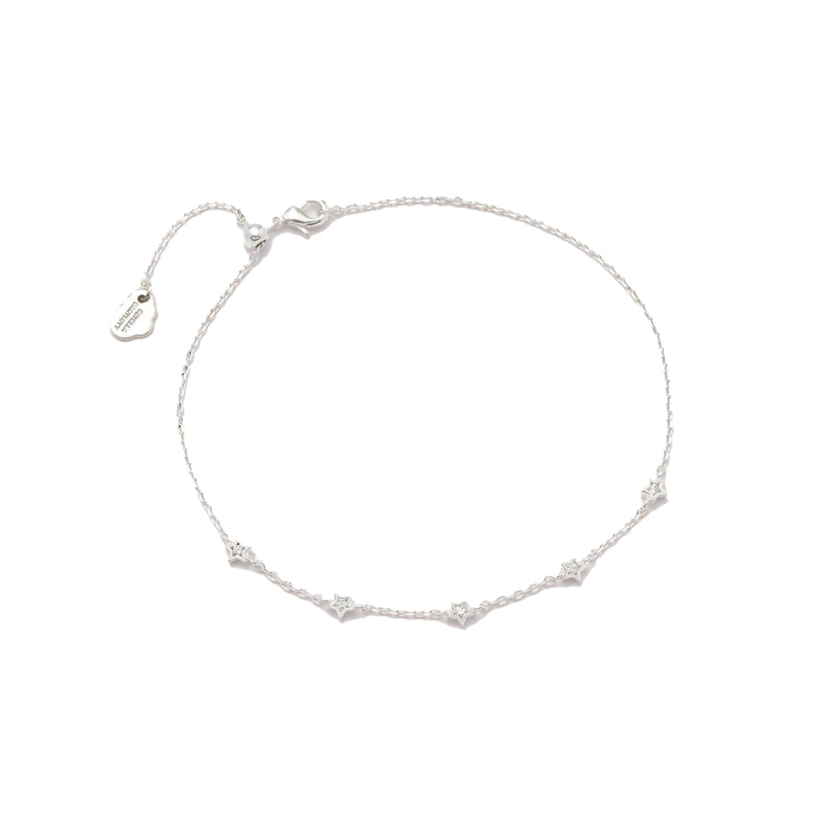 Constellation CZ Chain Bracelet SP