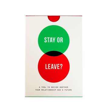 Stay or Leave Card Game