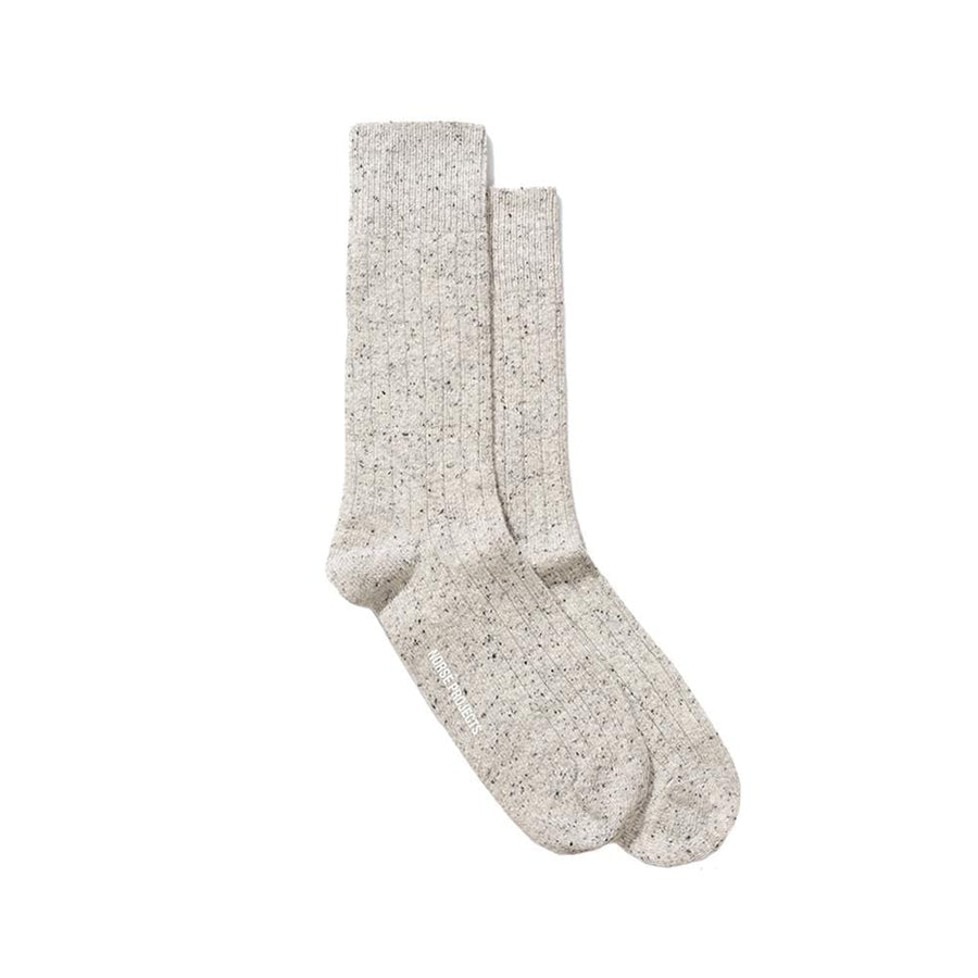 Bjarki Neps Socks Light Grey Melange OS