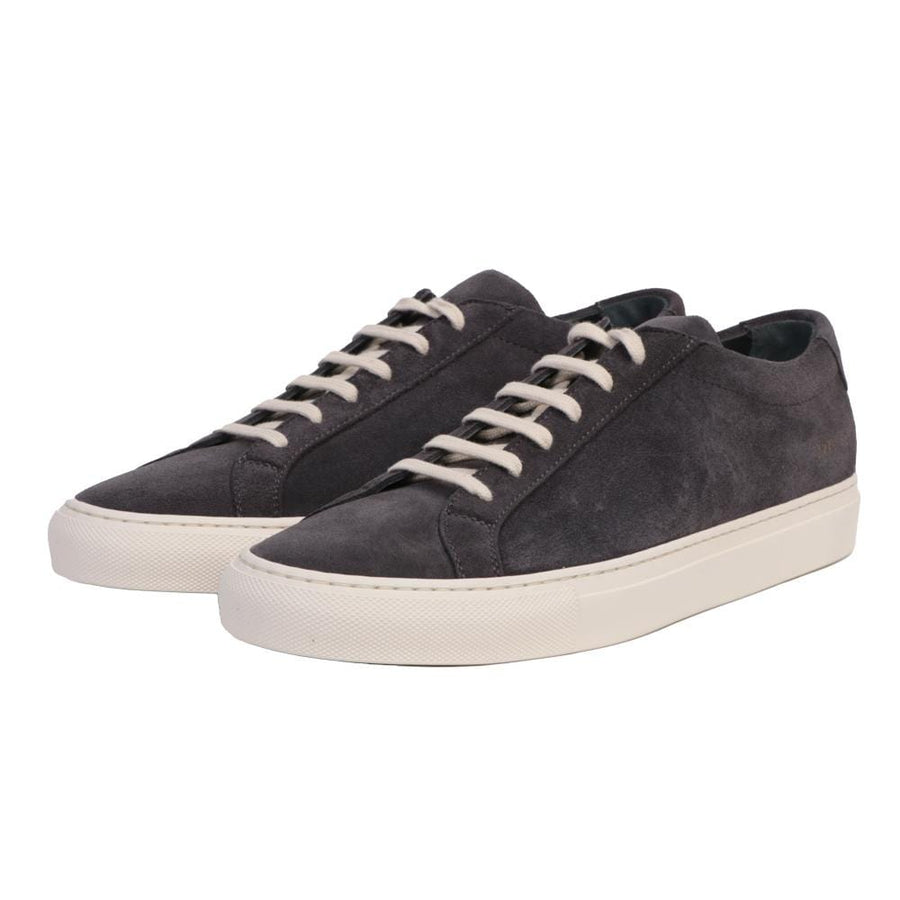 Achilles Low Suede Glassa Sole Wash Black (Men)