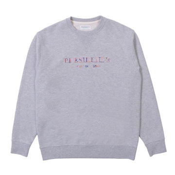 President's Crew Sweater P'S Multicolor Rose Grey Melange