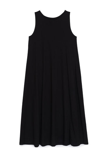 Tank Swing Dress Black