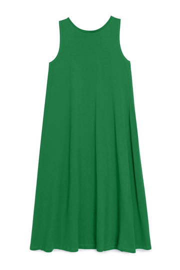 Tank Swing Dress Evergreen