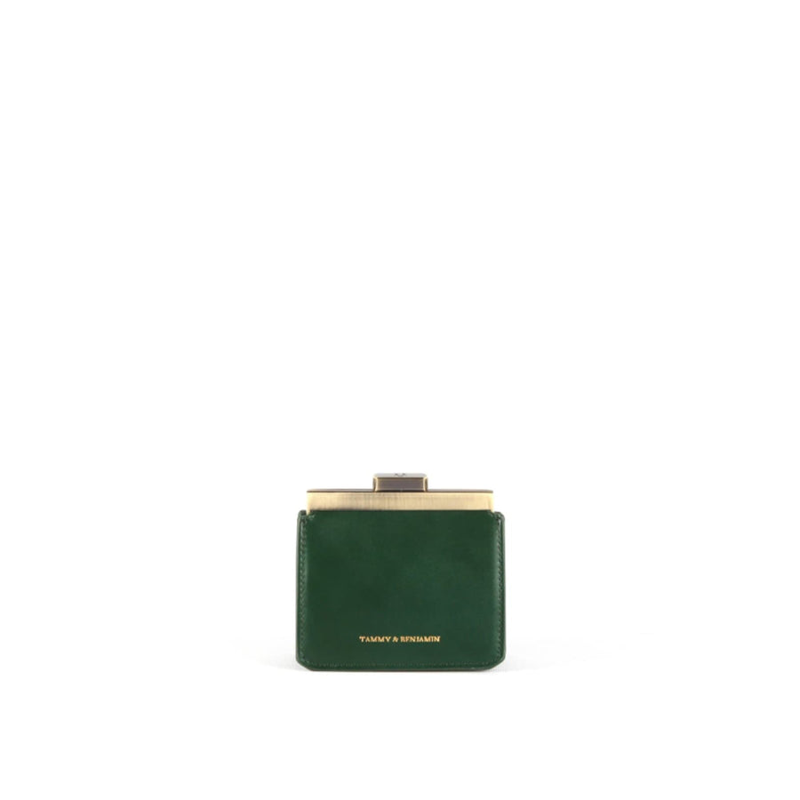 Jeanne Wallet Emerald Green