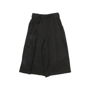 Divided Tencel Skirt Black