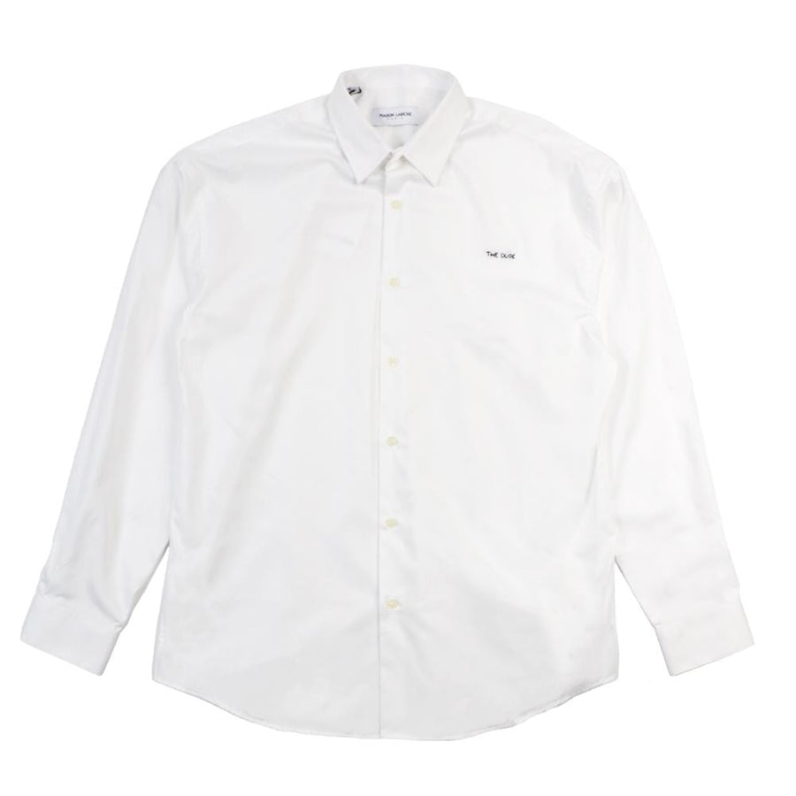 Boxy Shirt The Dude White