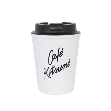 Cafe Kitsune Coffee Tumbler White U