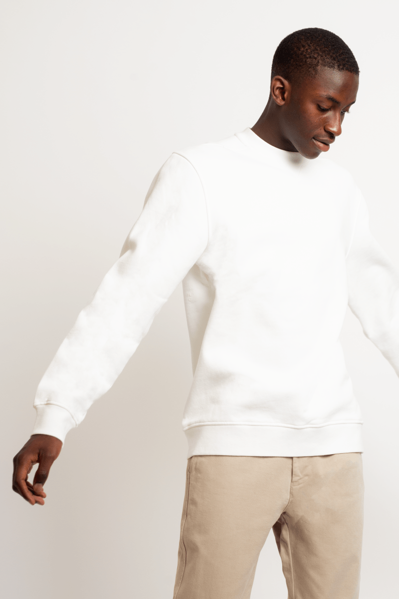 Crew Sweatshirt White
