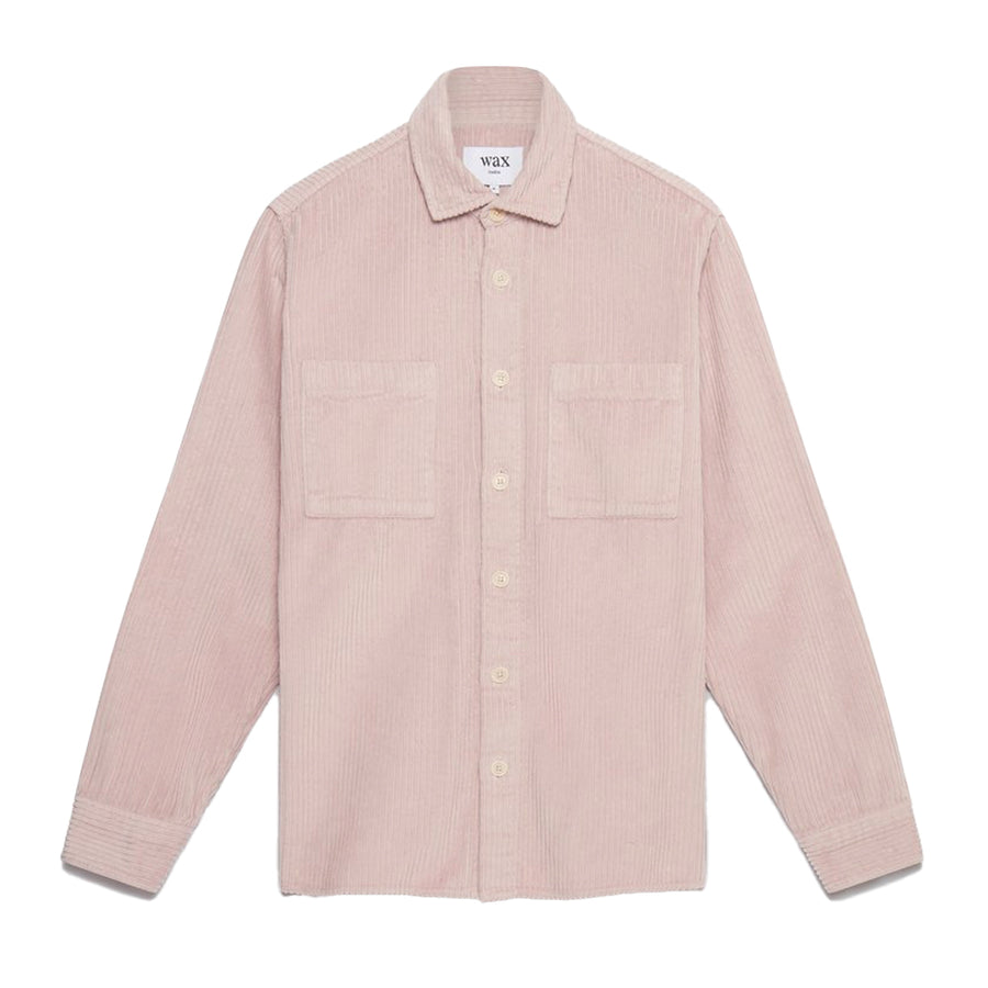 Whiting Overshirt Jumbo Cord Cotton Violet Pink