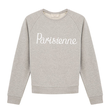 Sweat Shirt Parisienne Grey Melange (women)