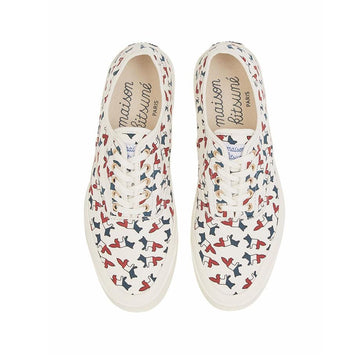 Sneaker All-Over Tricolor Fox Multicolot Print (Men)