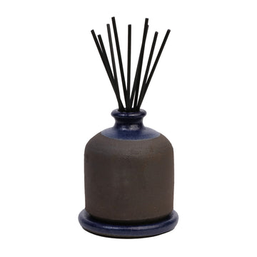 Stoneware Diffuser (Fig Leaf, Black Clay, Blue)