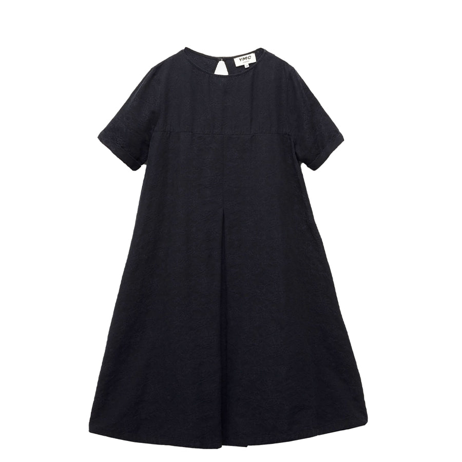 Cruz Big Pleat Dress Navy (women)
