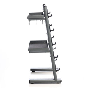 Black Chrome Cable Attachments Bar and Accessory Rack