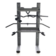 Load image into Gallery viewer, Black Chrome Cable Attachments Bar and Accessory Rack with Attachments