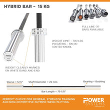 Load image into Gallery viewer, Women's 15KG Hybrid Bar