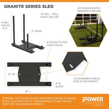 Load image into Gallery viewer, Granite Series Sled