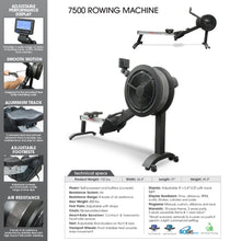Load image into Gallery viewer, Sport Series - Rowing Machine with Air Resistance
