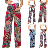 Casual Wide Leg Maternity Pants