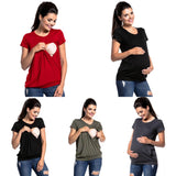Relaxed Fit Maternity Nursing Top
