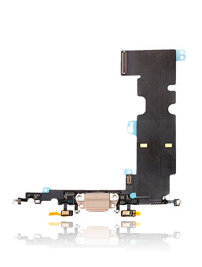 iPhone 8 Replacement Charging port flex Gold (A1863,A1905,A1864,A1898)