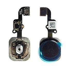 Apple iPhone 6 Complete Home Menu Button Connector Flex cable - Black