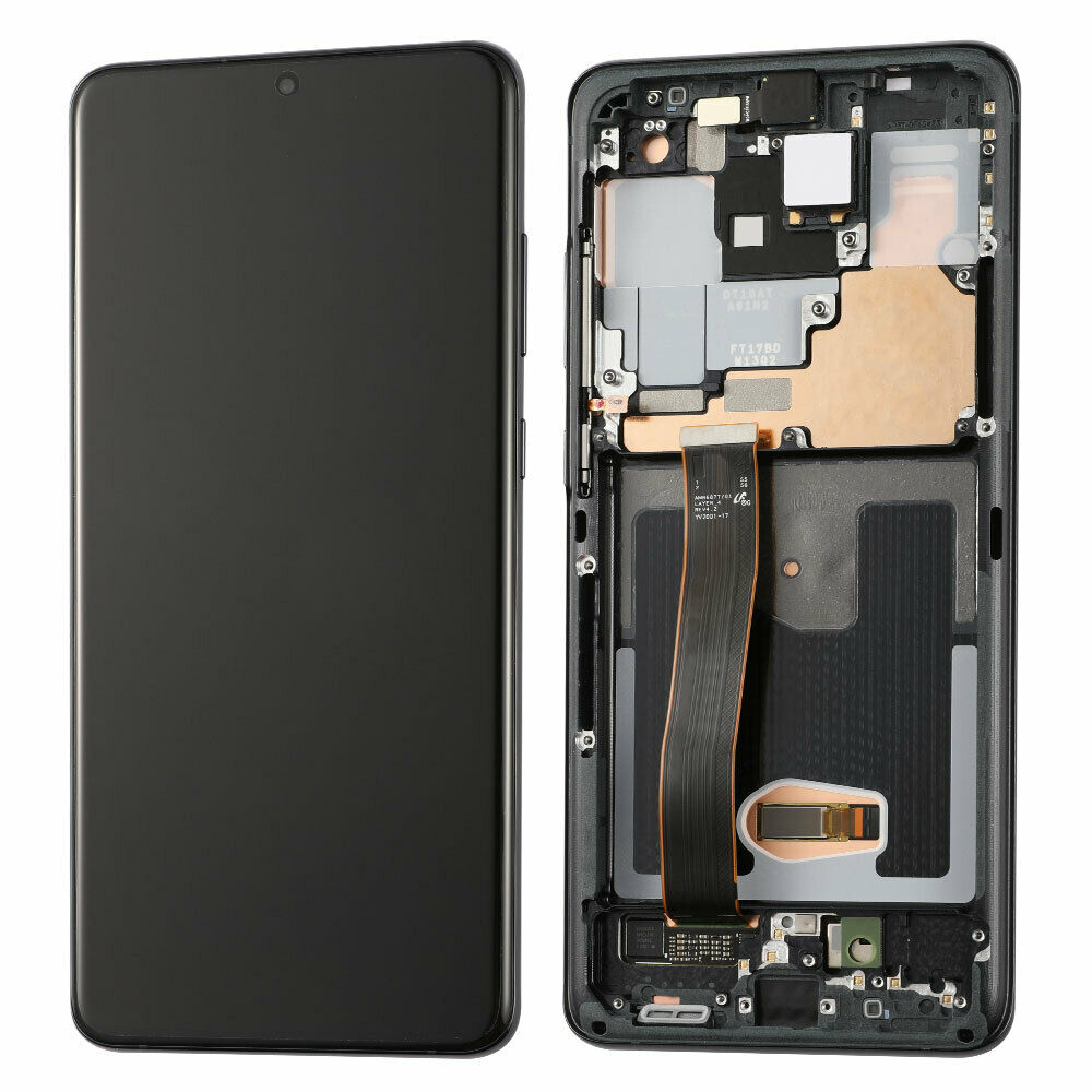 Samsung Galaxy s20 Ultra 5G OLED Assembly w/Frame (BLACK)
