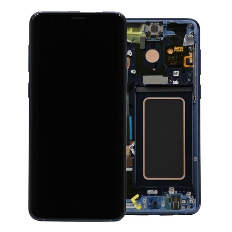 Samsung S9 Plus Lcd Assembly With Frame (Oem Pulls / Grade C )