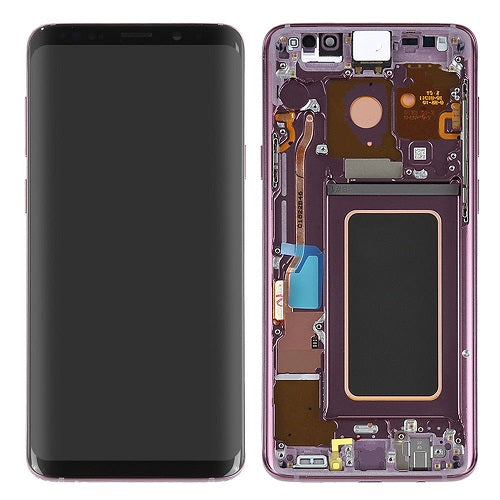 Samsung S9 Lcd Assembly With Frame (Oem Pulls / Grade A )