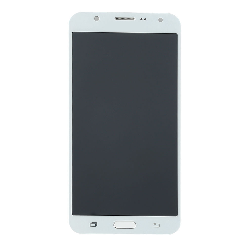 Samsung Galaxy J7 lcd assembly without frame (white) J700