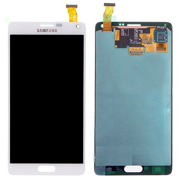 Samsung Galaxy Note 4 Lcd Digitizer White
