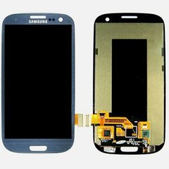 Samsung Galaxy S3 Blue LCD Display Screen with touch screen digitizer assembly (i9300 | T999 | i747 | R530 | I535 | L710)