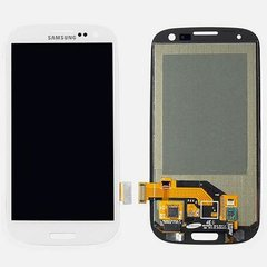 Samsung Galaxy S3 White LCD Display Screen with touch screen digitizer assembly (i9300 | T999 | i747 | R530 | I535 | L710)