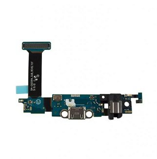 Samsung Galaxy S6 Edge G925P (SPRINT) Charging Port Flex Cable Ribbon with Earphone Jack