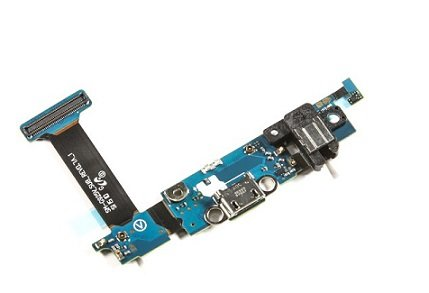 Samsung Galaxy S6 Edge SM-G925v (Verizon) Charging Port Flex Cable Ribbon with Earphone Jack