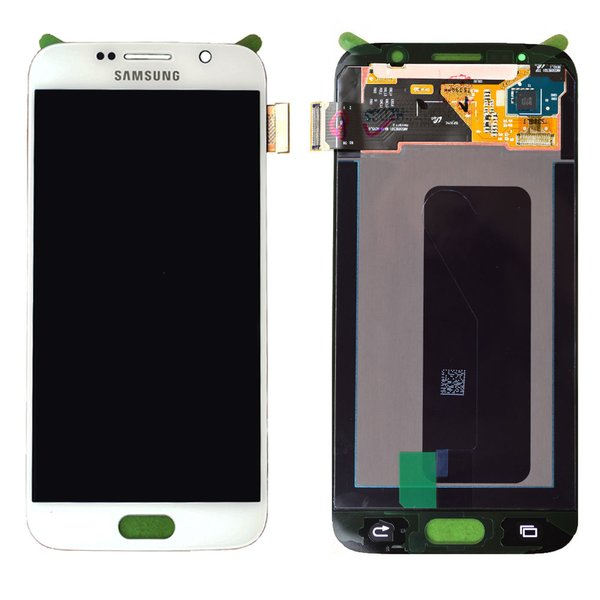 Samsung Galaxy S6 LCD Touch Screen Digitizer White G920 G920F G920A G920T