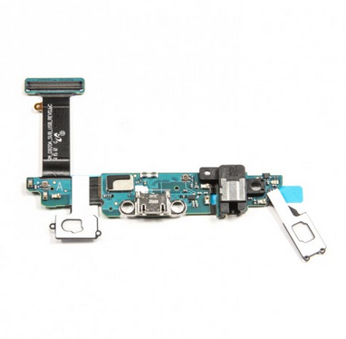 Samsung Galaxy S6 G920A (AT&T) S6 Charging Port Flex Cable Ribbon with Earphone Jack