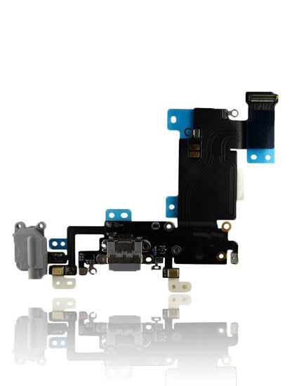 iPhone 6s Plus Replacement Charging Port Flex Cable Space Grey (A1634, A1687, A1699)