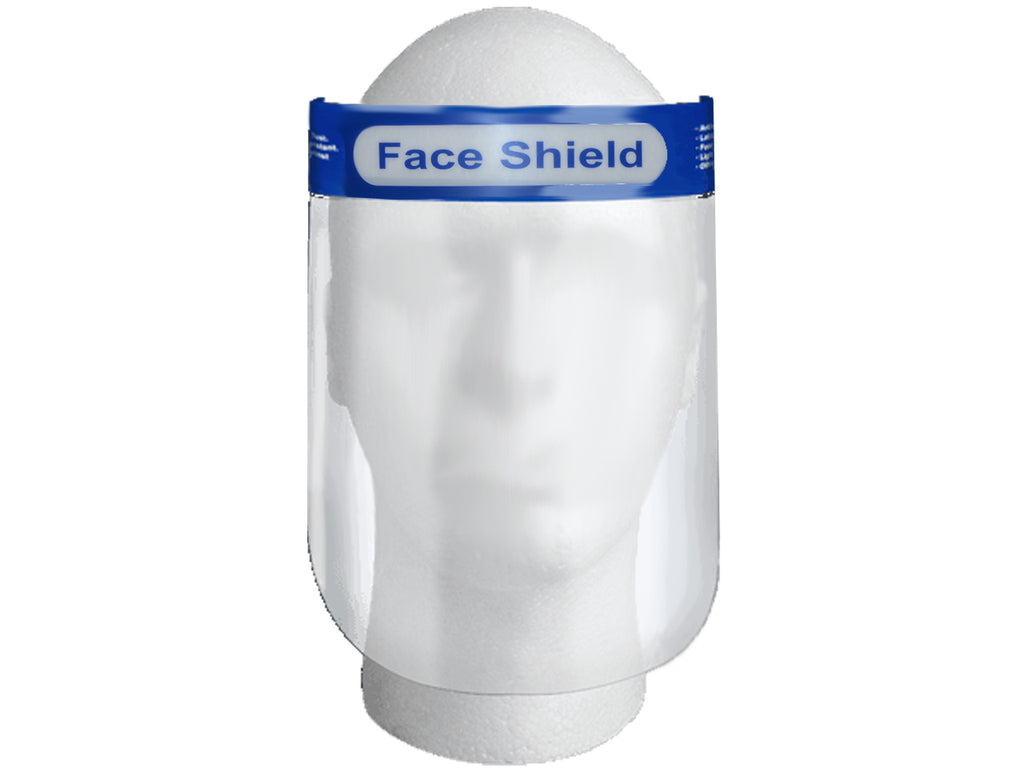 Face shield Splash Protector W/ Plastic Visor