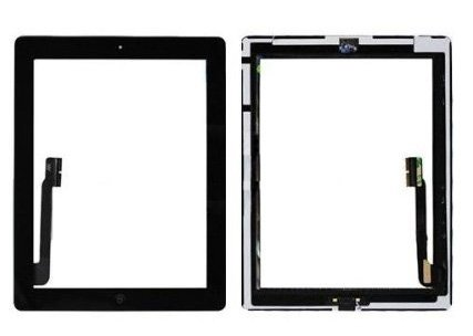 iPad 3 Digitizer Black  Premium Quality