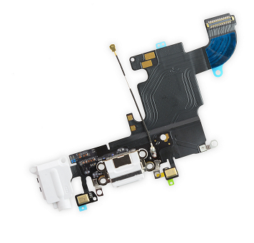 iPhone 6s Lightning Connector and Headphone Jack - White
