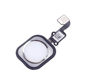 iPhone 6s and Home Button Flex Cable - White/Silver