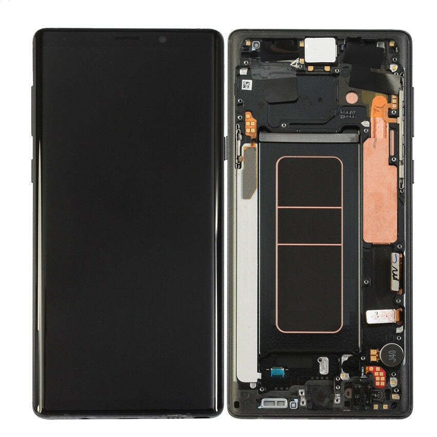 Samsung Galaxy Note 9 LCD Assembly With Frame ( Oem Pulls / Grade B )