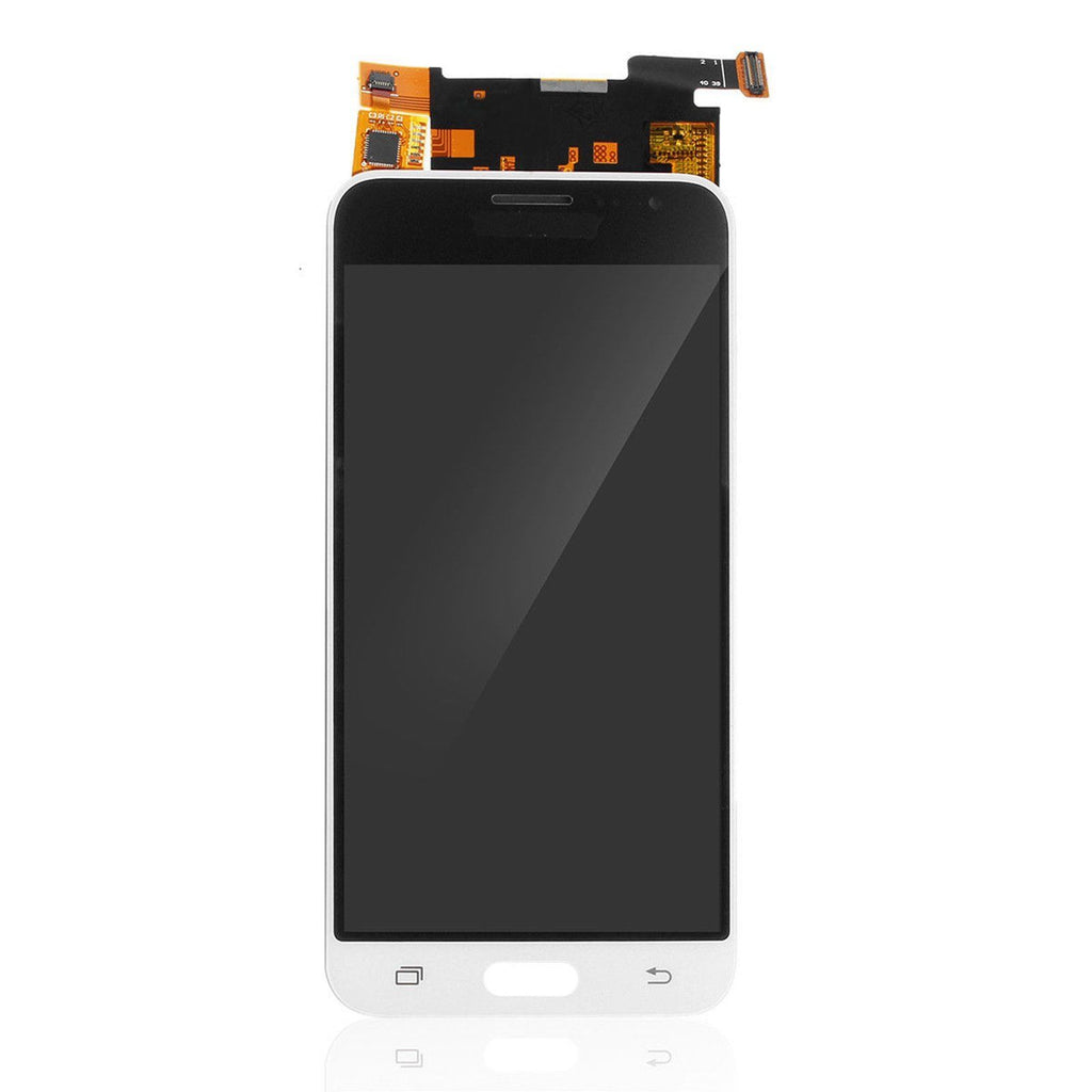 Samsung galaxy J320 lcd assembly without frame. white ( J3 2016 J320F J320M J320P J320Y)
