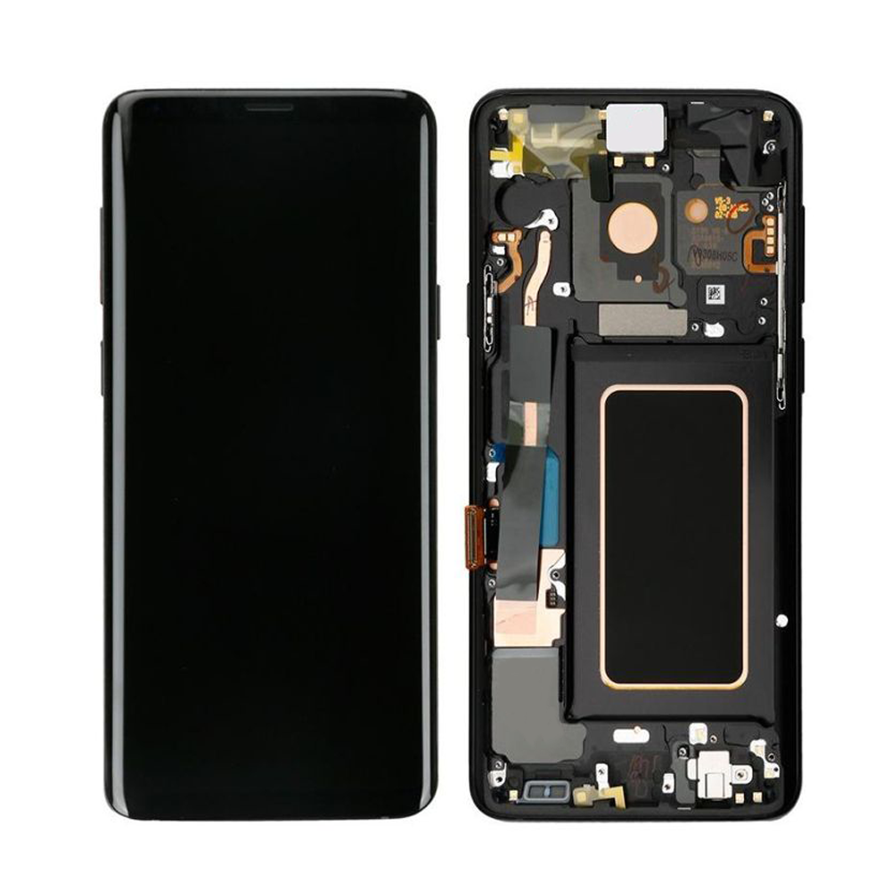 Samsung S9 Plus LCD Assembly With Frame (Oem Pulls / Grade B)
