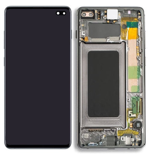 Samsung Galaxy S10 Plus LCD Digitizer Assembly With Frame B Grade