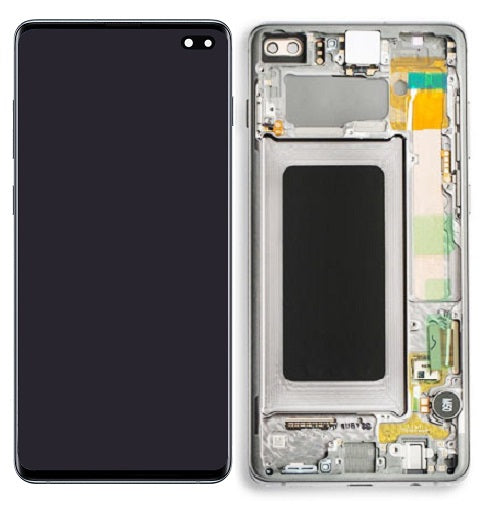 Samsung Galaxy S10 Plus LCD Digitizer Assembly with Frame