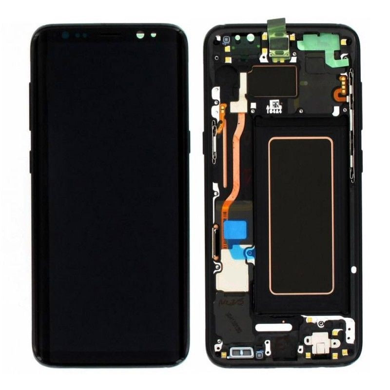 Samsung S8 LCD Assembly With Frame OEM Pulls / A Grade